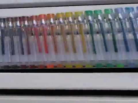 120 unique colors gel pen set by shuttle art review a fantastic