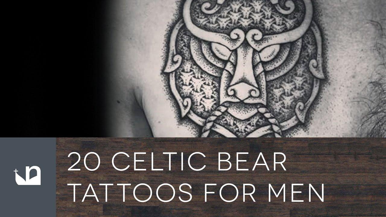20 Celtic Bear Tattoo Designs For Men – Tribal Ink Ideas