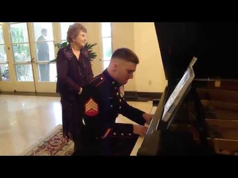 Chopin Etude No. 3 at Marine Corps Ball 2014 in Havana, Cuba