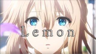 【MAD/AMV】ヴァイオレット・エヴァーガーデン【Lemon】