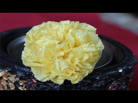 Tissue paper Marigold Flower