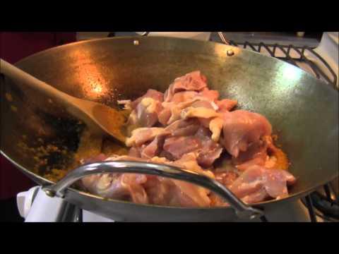 Malaysian Food Recipes: Malay Food: Ayam Gulai Lemak Cili Padis With Sambal Goreng Telur