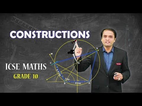 Class 10th | ICSE Board | Maths | Constructions