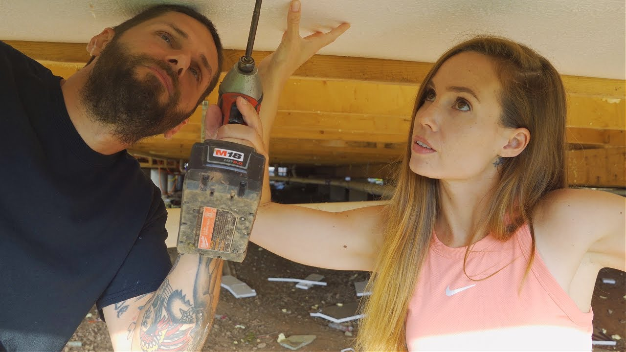 The Race To Close In Our Off-Grid Home Before Winter