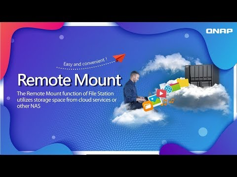 Utilize storage space from cloud services or a  remote NAS with File Station