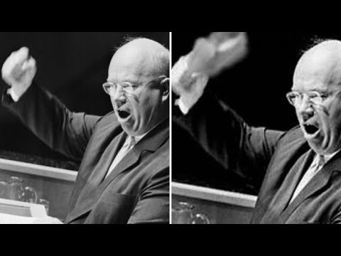 Стучал ли на самом деле Хрущев ботинком по трибуне в ООН?