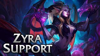 Dragon Sorceress Zyra Support - League of Legends Commentary