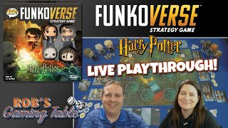 Funkoverse Strategy Game Harry Potter Live Playthrough