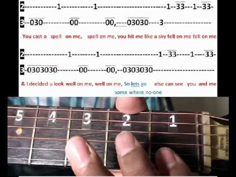 Glad You Came Wanted Guitar Tutorial Youtube