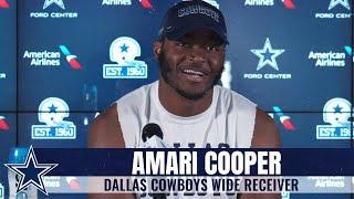 "Amari Cooper: CeeDee Lamb's the ""Total Package"" | Dallas Cowboys 2020"