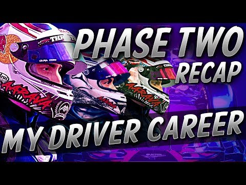 F1 MyDriver Career Seasons 4 - 6 (Phase Two) Recap: 2018 - 2020