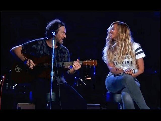 Beyonce & Eddie Vedder - Redemption Song (2015)