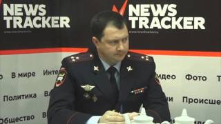 Алексей Сафонов - полковник полиции, начальник УГИБДД ГУ МВД России по Ставропольскому краю