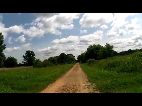La Cross River Trail (Eastbound) Onalaska to Sparta, WI - Part 7/LCR