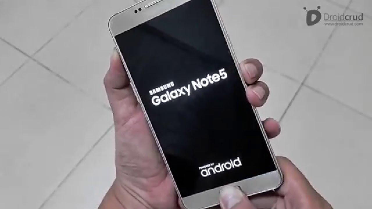 How To Restart The Samsung Note 5 HARD RESET Samsung Galaxy