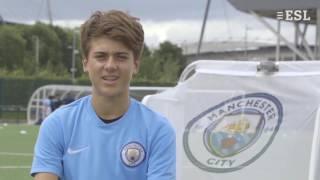 Jugendliche Spraschschule Manchester City Football (Jungen)