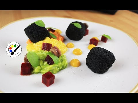 Plating Food #78 | Oxtail And Pepper Risotto |