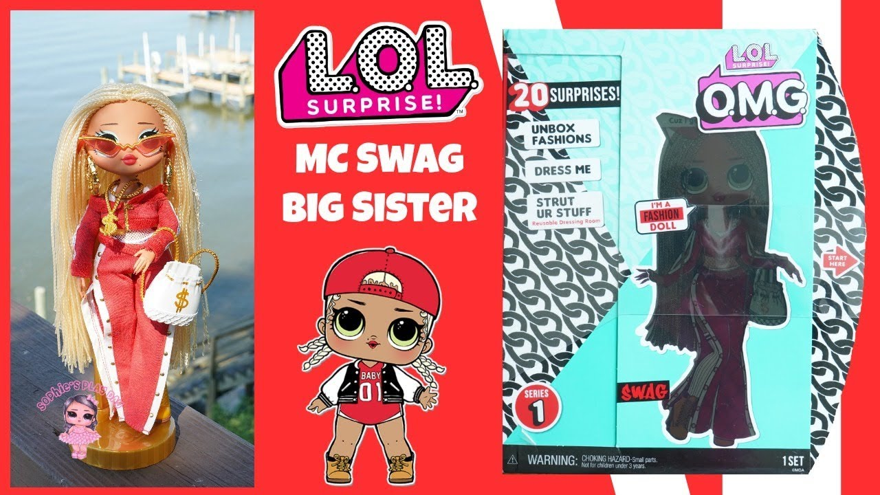Lol Surprise Omg Swag Unboxing Fashion Dolls Collect All Royal Bee Neonlicious Lady Diva