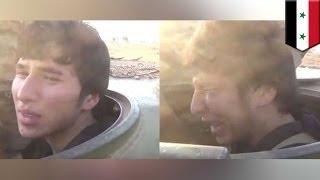 Смертник из ИГИЛ плачет как ребёнок перед самоубийственным взрывом