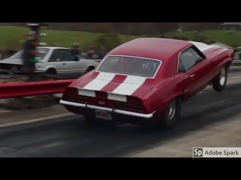 """Big Red"" Ohio Street Outlaws 69′ Camaro 1500+ HP!"