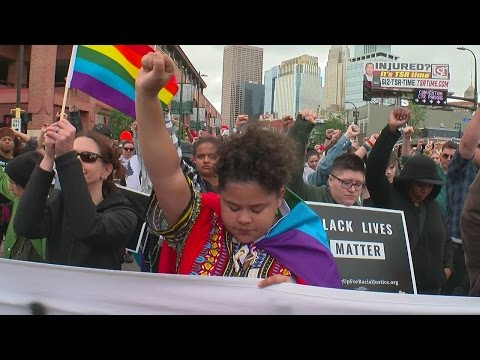 Black Lives Matter Protesters Halt Pride Parade