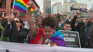Black Lives Matter Protesters Halt Pride Parade