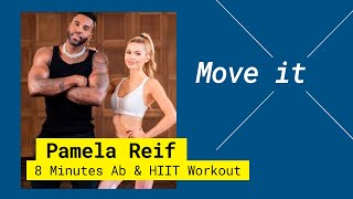 Get Active with Pamela Reif x Jason Derulo II 8 MIN AB & HIIT WORKOUT