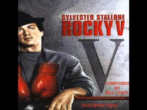 Rocky V (Bill Conti) Rare*