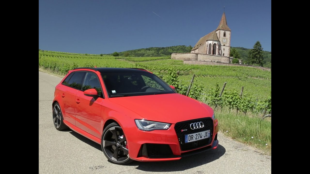essai audi rs3 sportback 2015 youtube. Black Bedroom Furniture Sets. Home Design Ideas