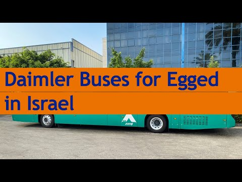 Daimler Buses Bags 415 Order From Egged In Israel