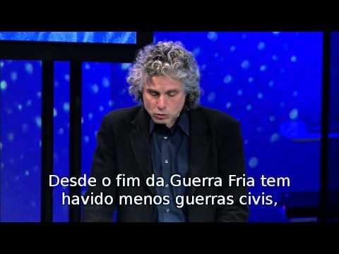 Steven Pinker fala sobre o mito da violência TED Legendado PT-BR