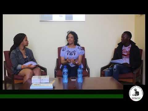 Afri ESM TV interview with Sinenhlanhla Sikhosana, Ph D Student in Astrophysics part 1