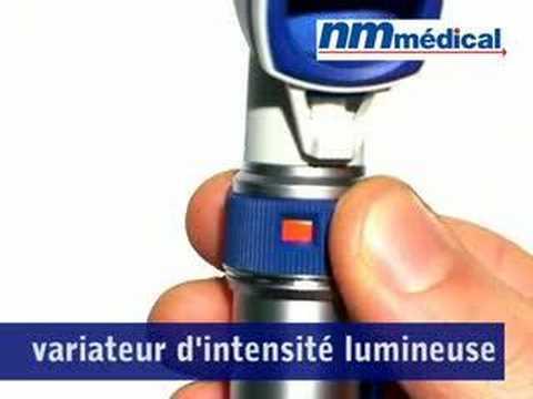 Heine Alpha Plus - Set otoscope à fibres optiques chez Mediq France
