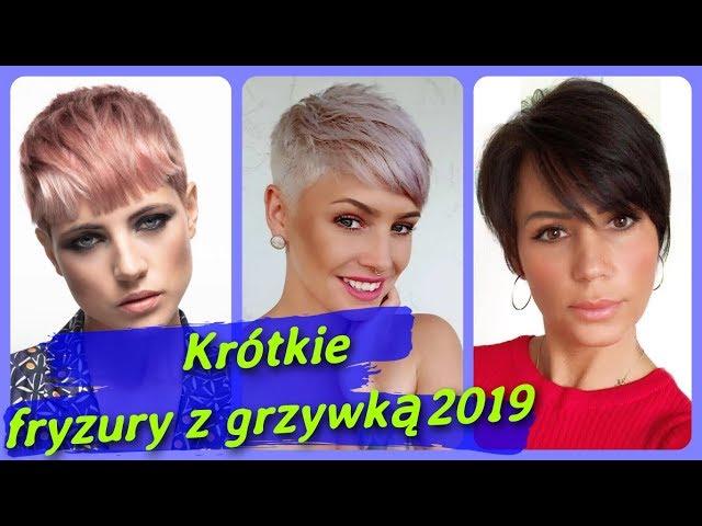 Top 20 modne ? krótkie fryzury damskie z grzywk? 2019
