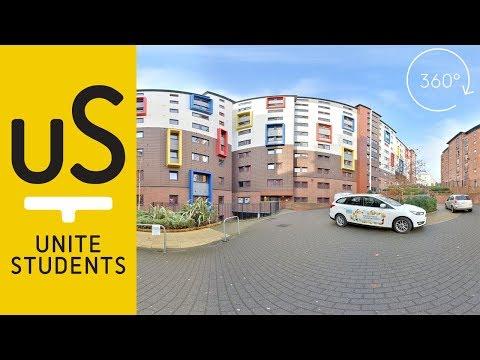 360° Tour - Newcastle Student Accommodation | Unite Students