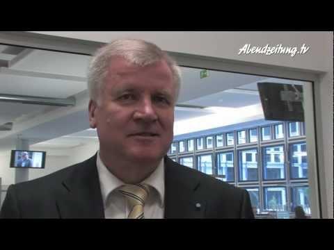 Abendzeitung-TV Interview Horst Seehofer