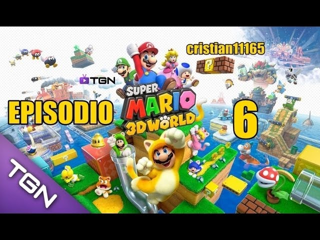 SUPER MARIO 3D WORLD -MUNDO 3.3 y 4.1 -Nintendo Wii U- gameplay Español HD #6 Videos De Viajes