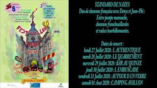 Festivallon 2020 - STANDARD DE NAZES