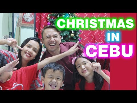 Filipino Christmas Celebration In Cebu Philippines With Family On Eve And More