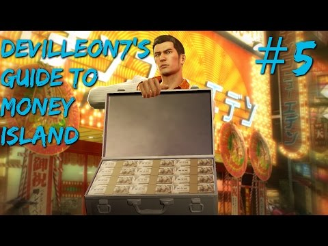 Yakuza 0 - Money Island Walkthrough #5: Pleasure and Electronics Kings Beaten! (Live Commentary)