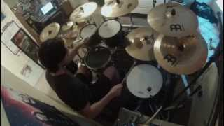 The Killers -  SOMEBODY TOLD ME Drum Cover - Michael Del Monte