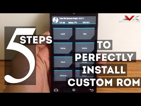 5 Steps To Perfectly Install Custom ROM on any Phone (Failproof){Noob Friendly}