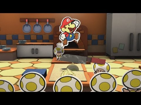 Tangerino Grill (Mini Star 1) - Paper Mario: Color Splash Walkthrough