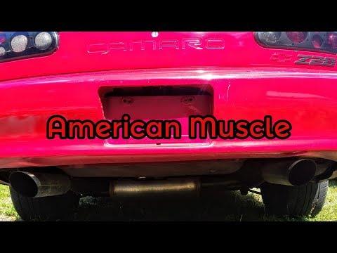 Z28 Camaro Exhaust - Magnaflow 15620 Cat Back Exhaust - LT1 5.7L
