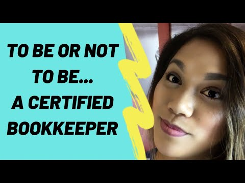 Do You Need To Be Certified To Do Bookkeeping