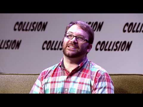 Cal Henderson & Mat Honan at the Collision Conference in 2016 - Scaling Slack