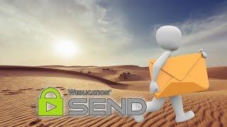 E-Mails verschlüsseln - Sensible Daten verschlüsselt senden - mit Weblication SEND