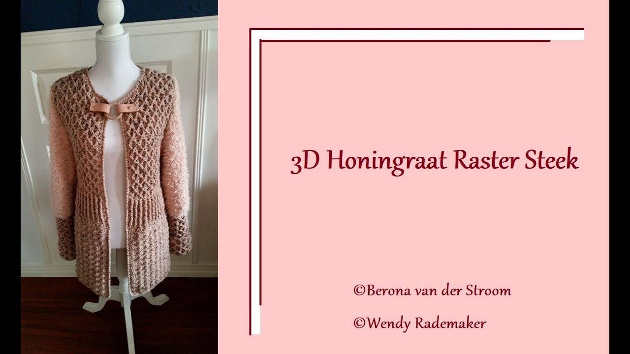 Vest Van Berona 3d Honingraat Raster Steek Toer 1 Youtube