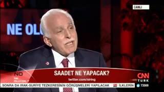 MUSTAFA KAMALAK, CNN Türk Ne Oluyor Programı'na Konuk Oldu   01 09 2015