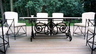 Wrought Iron Outdoor Furniture Usa Cast Iron Outdoor Furniture Usa
